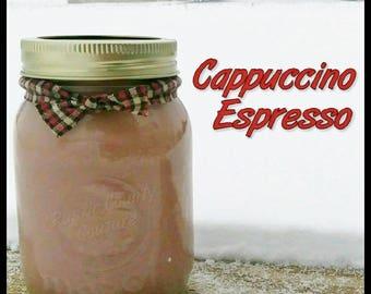 Cappuccino Espresso Soy Candle in 16 oz Jar