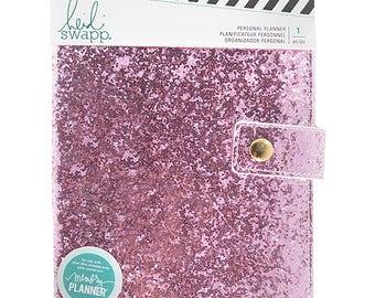 Heidi Swapp Personal Memory Planner - Fresh Start - Pink Glitter