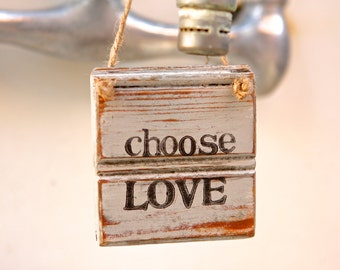 Choose Love | Love Sign | Rustic Love Sign | Valentines Gift | Wooden Love Sign