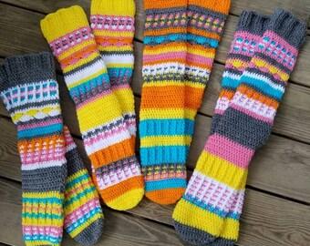 Free Spirit Knee High Socks/Slippers