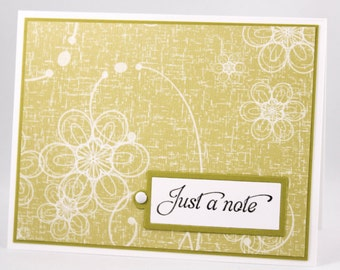Blank Note Cards, Just a note cards, Blank Cards, Handmade Note Cards