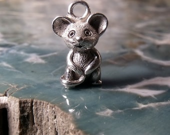 Mouse in Sterling Silver RF362