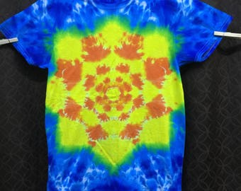 Adult Tie-Dye Mandala T-Shirt