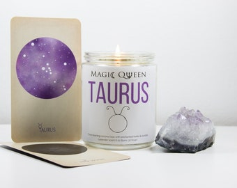 Taurus Magic Candle
