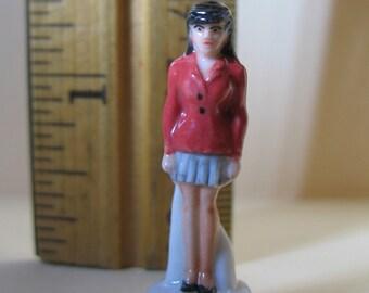 SUPERMAN Lois Lane DC Comics - French Feve Feves Porcelain Figurines King Cake Baby Doll House Charm Miniatures Mini E94