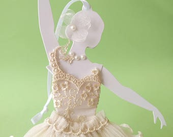 Ballerina, decorative element to hang