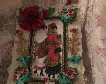 Victorian Christmas Styled, Paper Bag