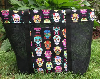 Sugar Skulls, Flowers and Hearts Oh My!