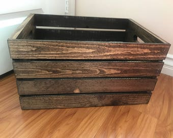 Rustic Vintage Crate Wedding and Home Decoration