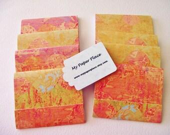 8 - Matchbook Notepads - Desert Sunset- 12 - 3 x 4 inch fold over sheets -