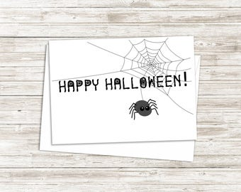 Happy Halloween Card - Halloween Card - Halloween Card for Kids - Greeting Card - Halloween Gift