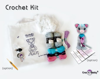 Crochet Kit - Cat's Enough