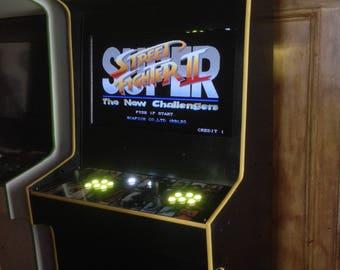 Super Street Fighter II Arcade Cabinet Machine 999 Games