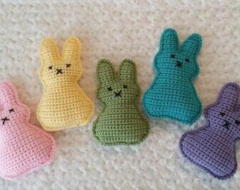 Peep Bunny crochet pattern