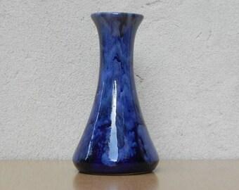 Blue Purple Ceramic Vase