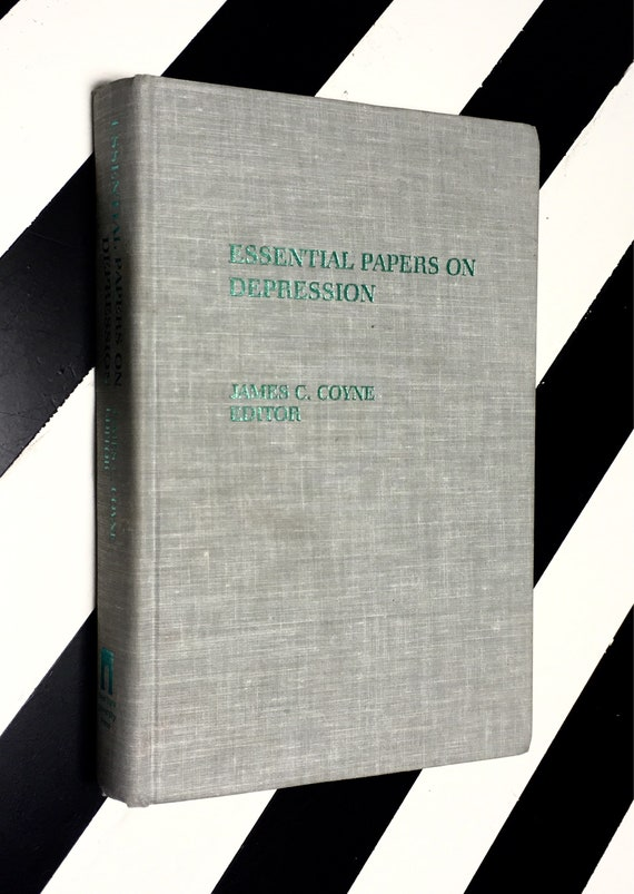 Essential Papers on Depression edited by James C. Coyne (1985) hardcover book