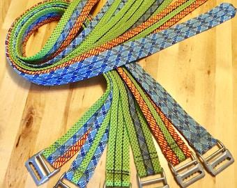 Upcycled Climbing Rope Belt