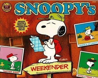 Snoopy's Weekender -  1987 - By Charles M. Schulz