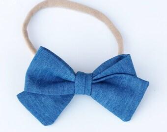 Jean tie bow