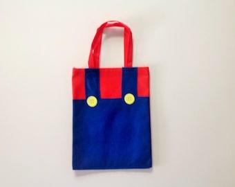 12 Pcs Mario Bros Party Bag Treat Bags Goodie Bags Super Mario Bros