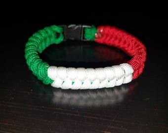 Italian Flag Bracelet