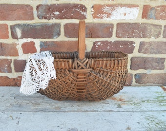 Vintage Market, Gathering Basket/13.5 Inches