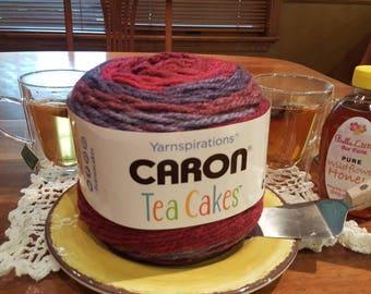Caron Tea Cakes Hibiscus Yarn