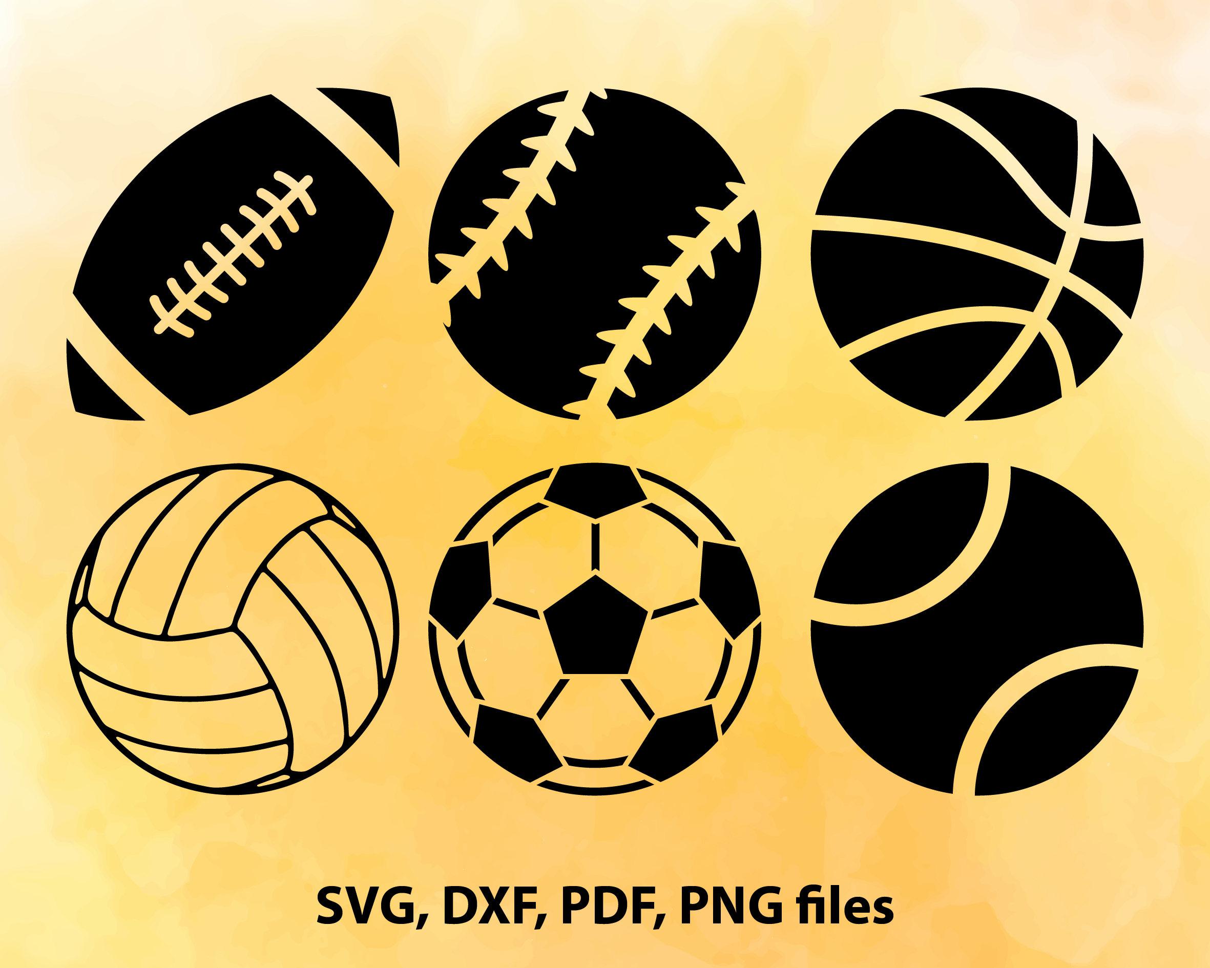 svg balls sport football clipart baseball soccer like description