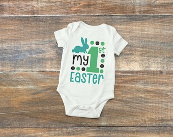 My 1st Easter Onesie, Easter Onesie, First Easter, Girls Easter, Boys Easter, Easter outfit, Baby's 1st Easter, Baby Girl Baby Boy Easter