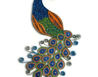CUSTOM Wall Hanging   Quilling Wall Art   Custom Made Wall Art   Quilling  Home Decor