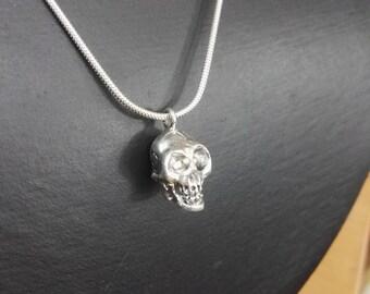 Funny Skull 935 Silver
