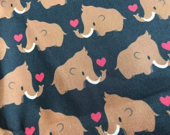 Wooly Mammoth Woven Cotton Fabric