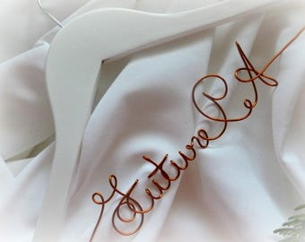 Personalized Future PA Coat Hanger For Physician Assistant Student
