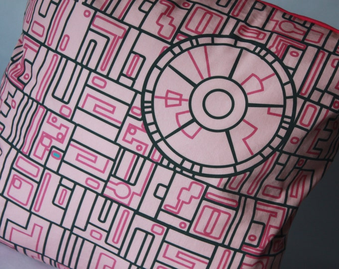 Death Star pillow in PINK!--Star Wars pillow--Star Wars baby pillow-MTO