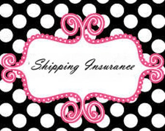 USPS Shipping INSURANCE - Peace of Mind, Add Insurance - For purchases At Greenwood Jewelry ONLY