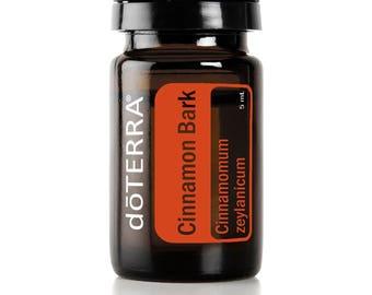 Doterra Cinnamon Bark Essential Oil 5mL bottle