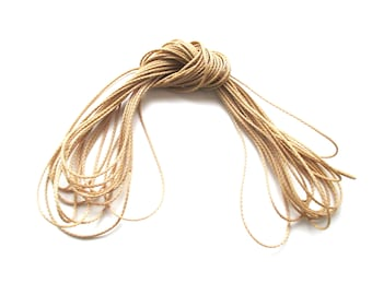 Polyester yarn - cord pacifier 1.5 mm-natural