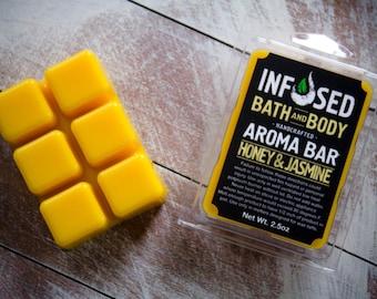 Soy Wax Melt, Honey & Jasmine Scented, Wax Tart, Soy Wax Tart, Scented Soy Wax, Aroma Bar, Room Fragrance