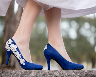 ac41d02d33e Cobalt Wedding Shoes
