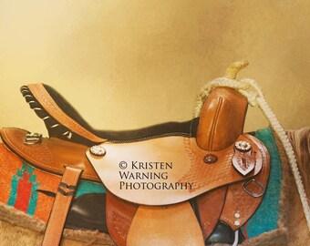 Western Saddle, Western Art, Turquoise, Western Pictures, Pictures of Saddles, Saddles, Fine art, Textures