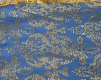 Cobalt blue table runner / bureau scarf / table scarf / cobalt blue / blue / cobalt / scarf / bureau / table / runner / linen / table linen