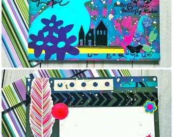 Handmade Postcards w/ Matching Envelopes