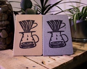 V60 Journal, Coffee journal, pour over, but first coffee, for the love of coffee journal