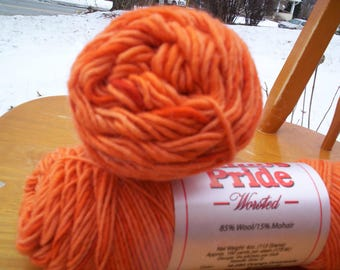 Lamb's Pride Worsted Orange Dreamsicle
