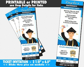 casino dice ticket invitation printable with printed option