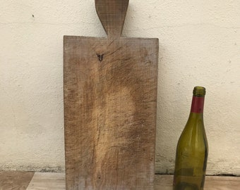 ANTIQUE VINTAGE FRENCH bread or chopping cutting board wood 2403181