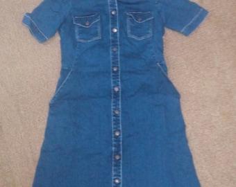 Zara dress jean