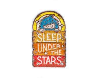 Bigfoot Sleep Under the Stars Sticky Patch