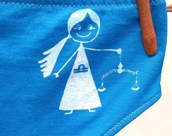 Libra Zodiac Women's Underwear - Recycled Cotton - Size 6 - Ready to Ship
