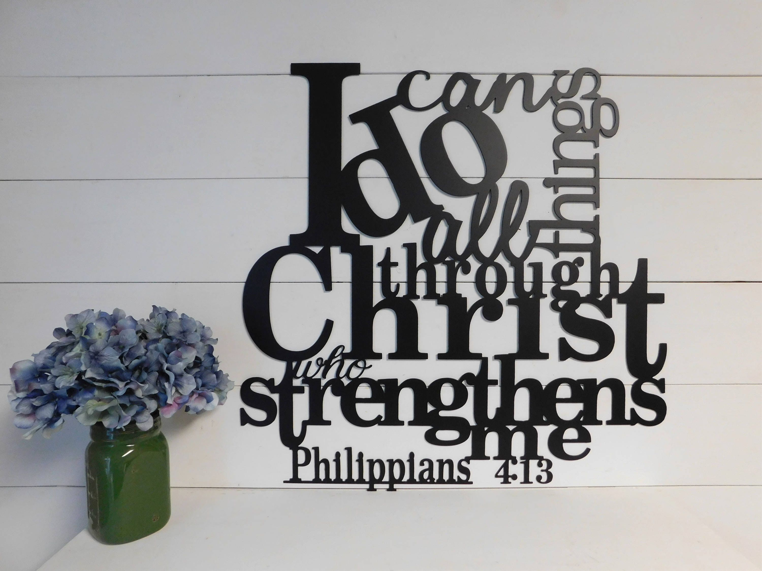 I can do all things through christ who strengthens me sign zoom kristyandbryce Images